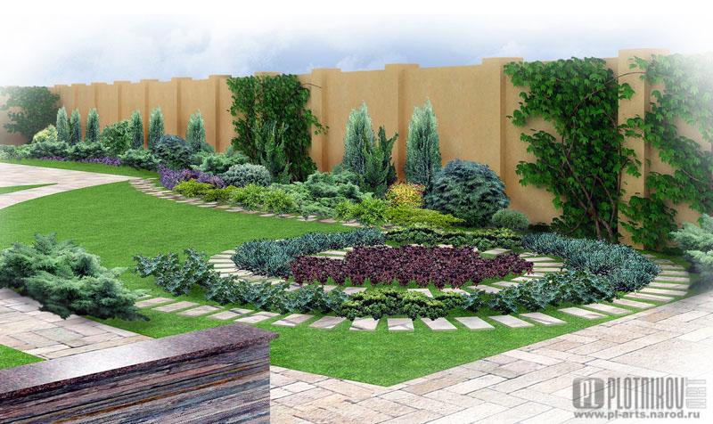 Краснодар ландшафтный дизайн сада